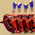 Танец с задиранием ног фото 24-229